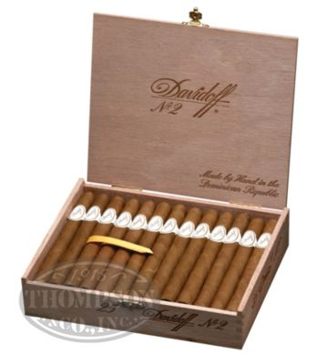 DAVIDOFF CLASSIC SERIES NO.2 CONNECTICUT PANETELA