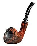 NORDING PIPE BROWN # 3 HALF BENT SMOOTH