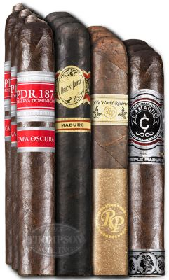 Maduro Madness Twelve Cigars Maduro Sampler