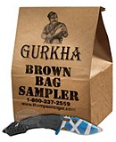 Gurkha Brown Bag 10 Cigar Sampler Plus Knife