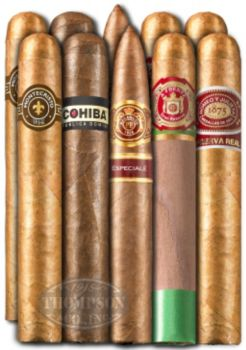 THE DREAM TEAM TEN CIGAR SAMPLER