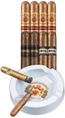 Macanudo And Cohiba Sampler With Ashtray