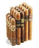 MILD TO MEDIUM SUPER PREMIUM 20 CIGAR SAMPLER