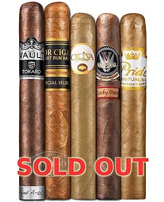 Five Pack Madness XXVi Cigar Sampler