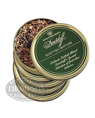 Davidoff Pipe Tobacco Scottish Mix 5 Tins Scotch Whiskey