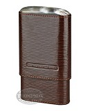 ANDRE GARCIA 4 FINGER BROWN LEATHER HORN TOP CASE