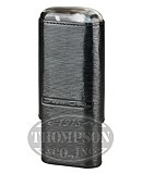 ANDRE GARCIA 3 FINGER BLACK LEATHER HORN TOP CASE