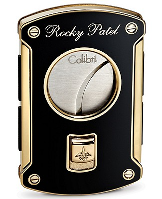 Rocky Patel Limited Edition Black And Gold Cigar Cutter