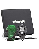 XIKAR HUNTER STRATOSPHERE LIGHTER AND XIKAR XI2 MESH CUTTER