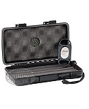 XIKAR 5 COUNT TRAVEL CASE WITH XIKAR X8 CARBON FIBER CUTTER