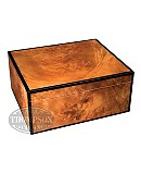 Merger High Lacquer Burl 30 Count Humidor