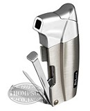JETLINE LACARDO PIPE LIGHTER SILVER