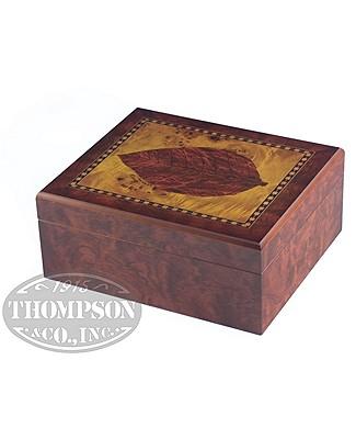 Top Leaf 25 Ct Humidor Gift Set