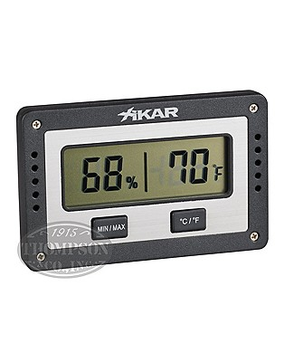 Xikar Rectangle Hygrometer