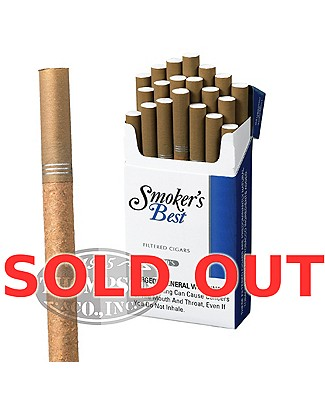 Smoker's Best Filtered Lights Natural Filtered Cigarillo