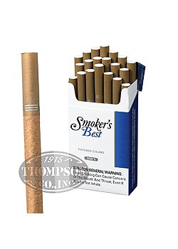 SMOKER'S BEST FILTERED LIGHTS 2-FER NATURAL CIGARILLO