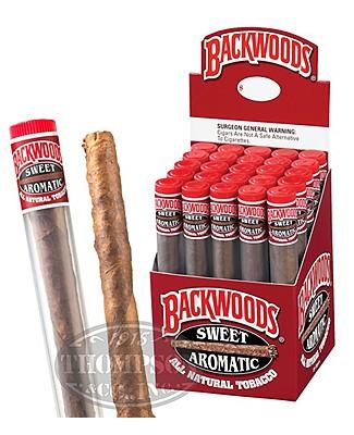 Backwoods Tube Upright Natural Cigarillo Sweet
