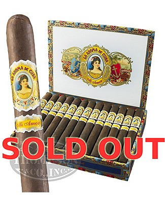 La Aroma De Cuba Mi Amore Box Pressed Plus Ashtray Maduro Churchill