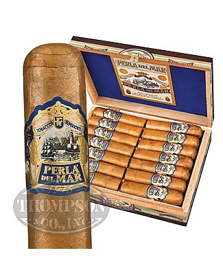 Perla Del Mar Box Pressed Connecticut Short Robusto Grande