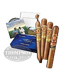 ARTURO FUENTE DESTINO AL SIGLO 4 CIGAR SAMPLER BLUE TRAVEL HUMIDOR