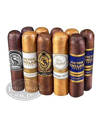 Victor Sinclair Ten Cigar Sampler Gordito
