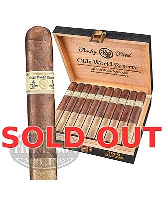 Rocky Patel Olde World Reserve Toro Maduro Plus Rocky Ashtray & 5pk