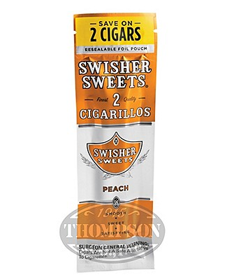Swisher Sweets Peach Cigarillos 60 Count
