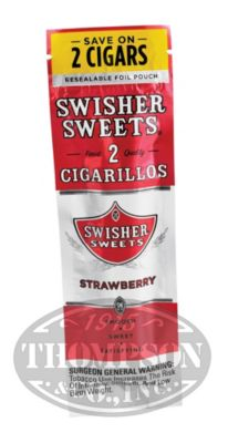 Photo of Swisher Sweets Strawberry Cigarillos 60 Count