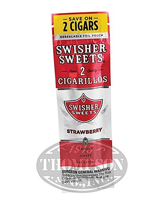 Swisher Sweets Strawberry Cigarillos 60 Count