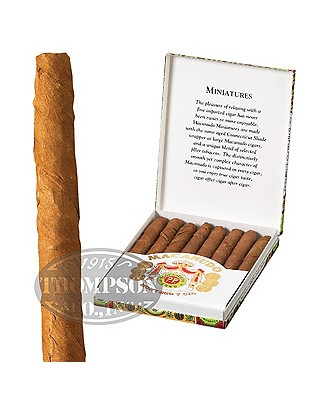 Macanudo Cafe Miniatures Connecticut Mini Cigarillo
