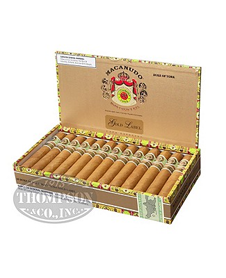 Macanudo Gold Label Lord Nelson Connecticut Churchill