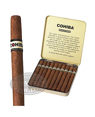 Cohiba Miniatures Cameroon Mini Cigarillo