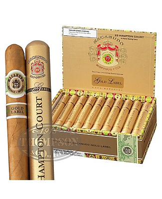 Macanudo Gold Label Hampton Court Connecticut Corona