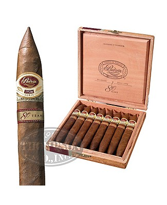 Padron Serie 1926 80th Anniversary Natural Perfecto