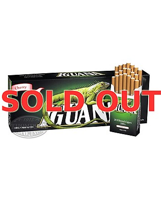 Iguana Cigar Natural Filtered Cherry Hard Pack