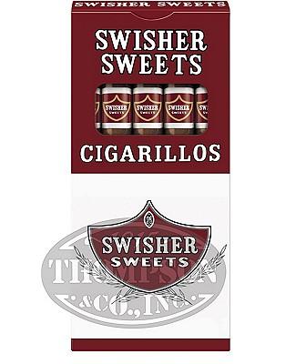 Swisher Sweets Cigarillo Packs Natural Cigarillo Sweet