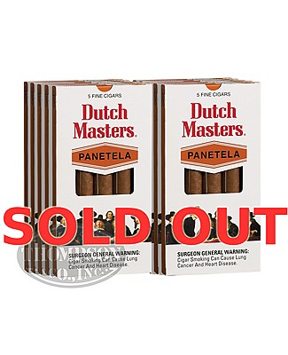 Dutch Masters 2-Fer Natural Panetela
