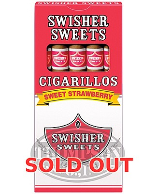 Swisher Sweets Strawberry Natural Cigarillo