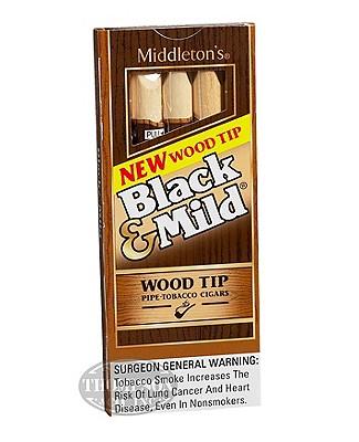 Black & Mild Tip Natural Cigarillo