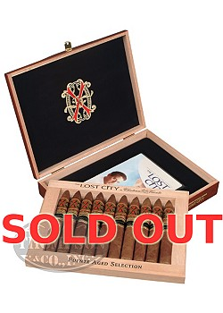 ARTURO FUENTE OPUS X THE LOST CITY COLORADO DOUBLE ROBUSTO