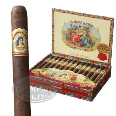 Photo of La Aroma De Cuba New Blend Churchill Maduro
