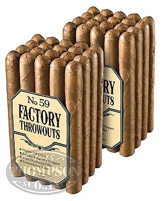 Factory Throwouts No. 99 Sun Grown Churchill 2-Fer