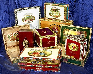 Premium Wooden Empty Cigar Boxes