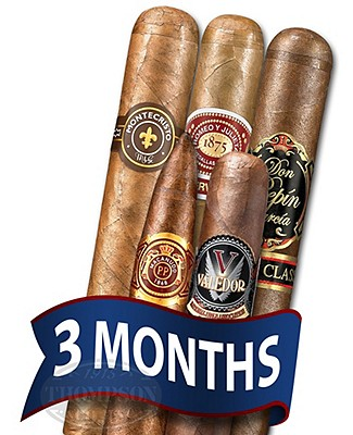 Cigar Tour Sampler Of The Month 5 Cigars For 3 Months