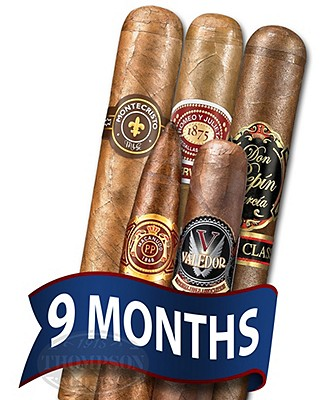 Cigar Tour Sampler Of The Month 5 Cigars For 9 Months