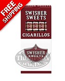 Swisher Sweets Cigarillo Packs Natural Cigarillo Sweet