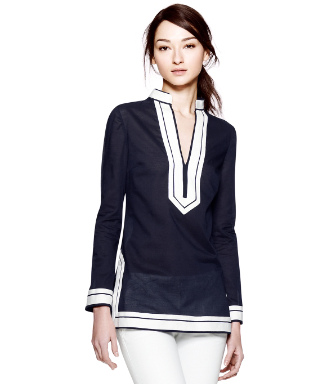 Med Navy Tory Burch Tory Tunic