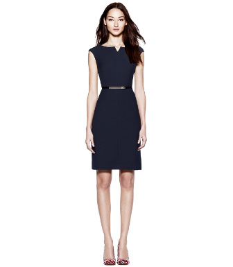 Med Navy Tory Burch Walsh Dress