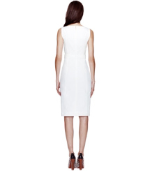 White Tory Burch Tayler Dress