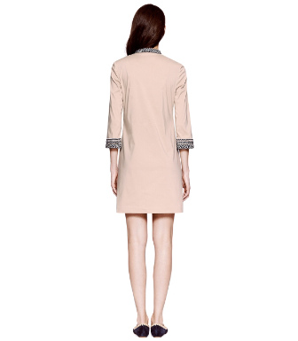 French Khaki Tory Burch Tory Mini Dress